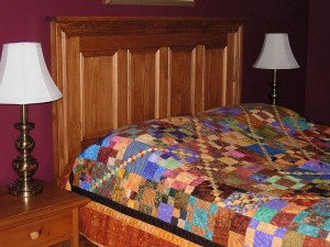 Queen Panelled Bed