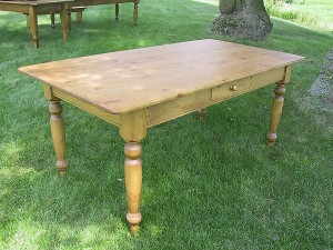 "Pine Conference Table 7'x42"" Many Sizes and Styles Available"