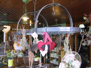 "Iron Pot Rack 36x13x16"" Other Styles Available"