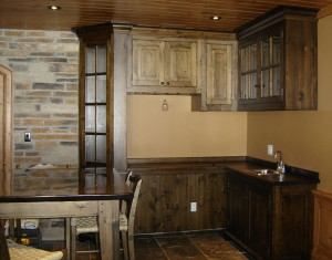 Custom Pine Kitchen