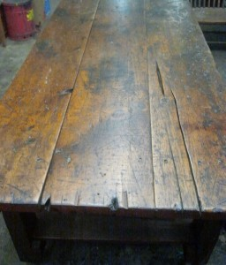 1800's Blacksmith Workbench Top