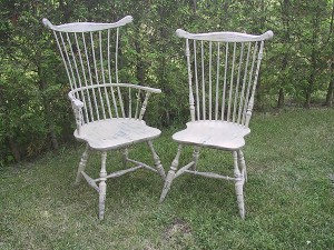Large Comb Back Chairs