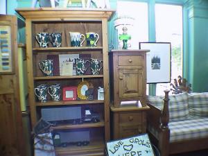 "Pine Bookcase 36""W 11""D 72""H"