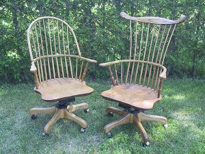 Sack Back & Comb Back Office Chair
