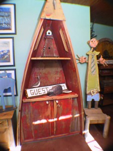 Antique Fishing Boat Shelf * Limited availability, not always in store.