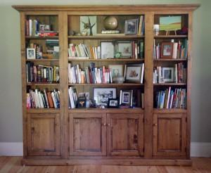 "Custom 8'w 7'h 14""d Bookcase. Inquire"