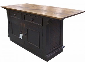 "52"" Kitchen Island w Overhang, 2 Door, 2 Drawer. avail in Different Layouts"
