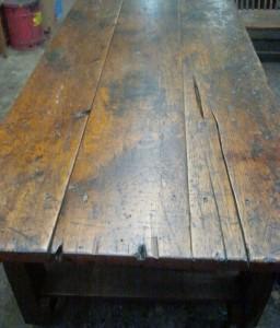 1800's Blacksmith Workbench Top
