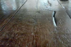 Threshing Floor Top from Early 1800's Barn